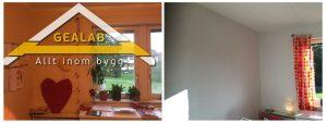 måla rummet Spångavägen