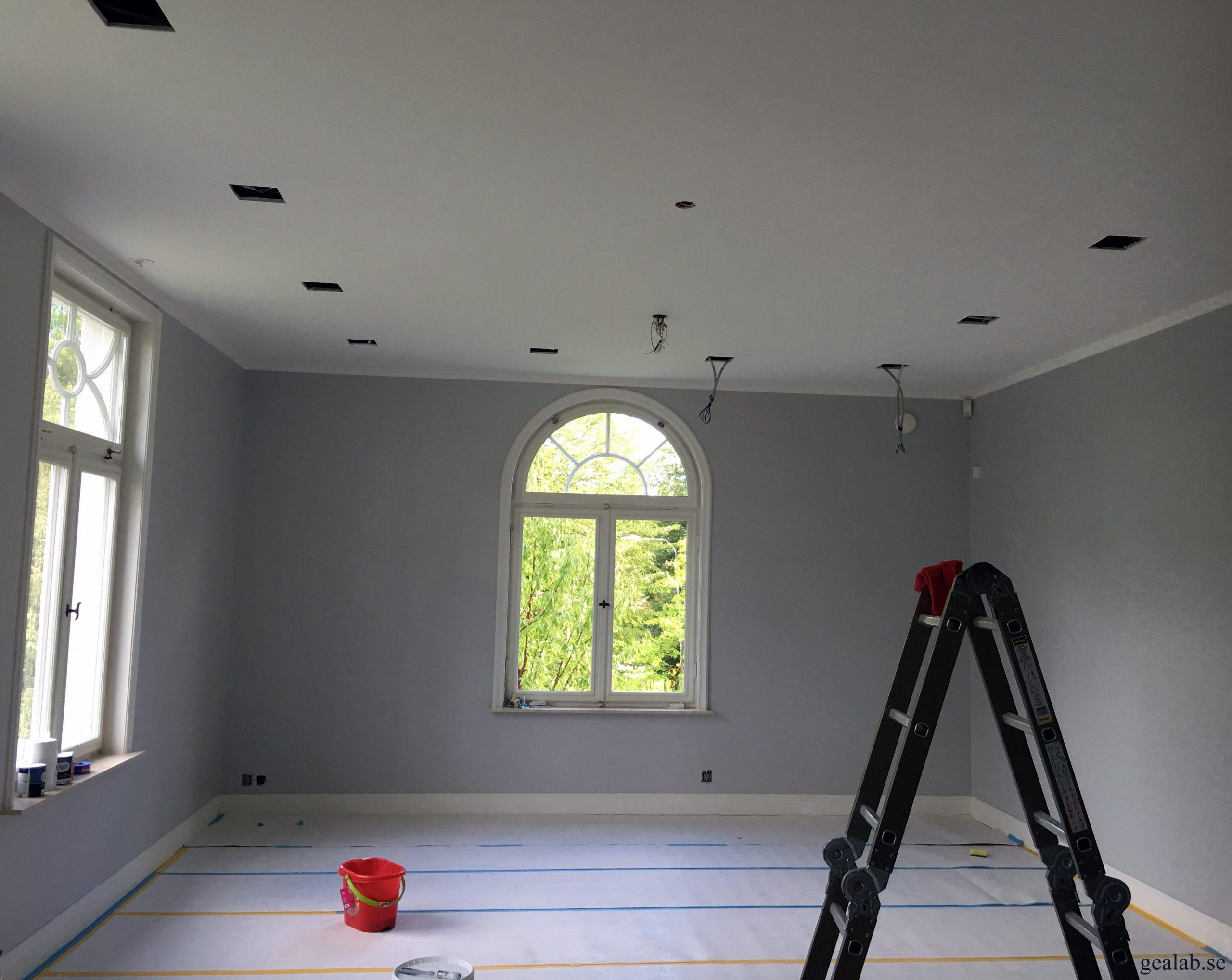 Att måla tak och väggar (inomhus)   Stockholm   Geal AB – Allt inom Bygg 42c3cf64122aa