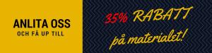 35% Rabatt idag!