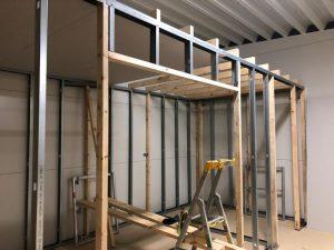 Byggnation av kontoret på förrådsvägen, Västerhaninge_8
